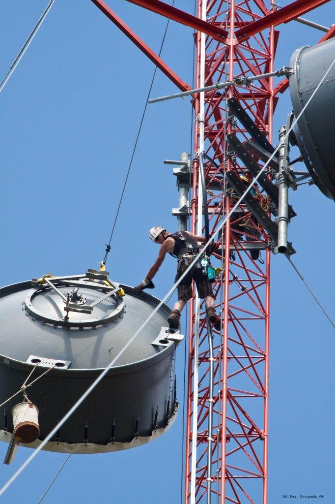 Tower Rigging Spectrum Telecom