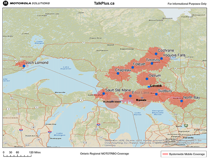 TalkPlus Coverage Map